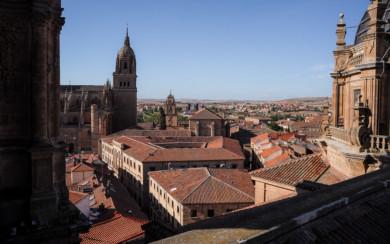Salamanca es una de las 15 ciudades Patrimonio de la Humanidad.