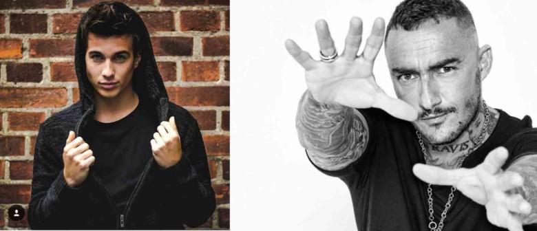 Adrián Fyrla y DJ Nano actúan en la Plaza Mayor el viernes.