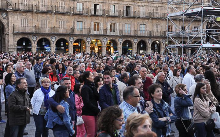 Aretha Soul Divas, en la Plaza Mayor de Salamanca.