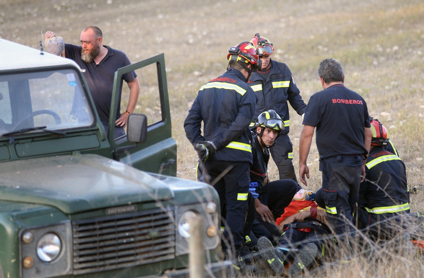 bombero cogido novillo palencia accidente (3)