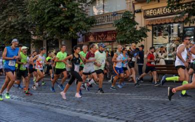Alrededor de 600 personas participaron en la carrera solidaria por el 175 aniversario de la fundación de la Benemérita