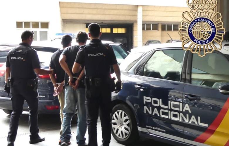 detenidos robo vivienda policia nacional