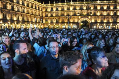 Dvicio ofreció el último concierto de Ferias y Fiestas de Salamanca.