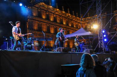 Dvicio ofreció el último concierto de las Ferias y Fiestas en Salamanca.