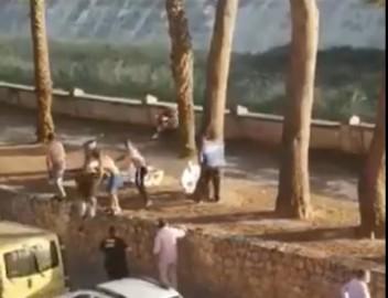El toro abatido a tiros en Algamesí, Valencia.