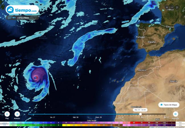 En los primeros días de octubre el huracán Lorenzo acaparará toda la ate...