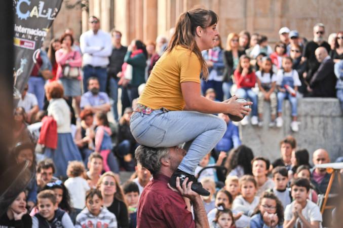 Festival de Artes de Calle en la Plaza de Anaya. Salamanca