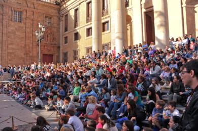 Festival de Artes de Calle Plaza de Anaya Salamanca.