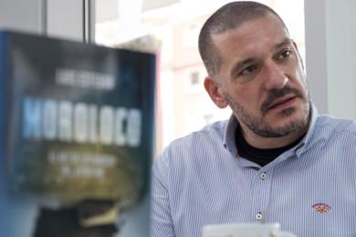 comisario Luis Esteban, autor del libro 'Moroloco, el rey de los narcos del estrecho'
