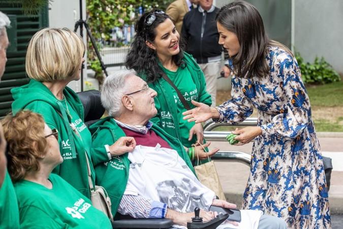 Ricardo Ordóñez / ICAL La reina Letizia visita el Centro de Referencia Estatal de Atención a Personas con Enfermedades Raras y sus Familias , en Burgos.