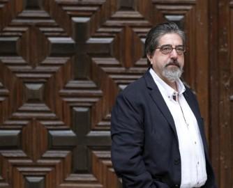 """David Arranz / ICAL El escritor Luís García Jambrina, autor del libro """"El manuscrito de Aire"""""""