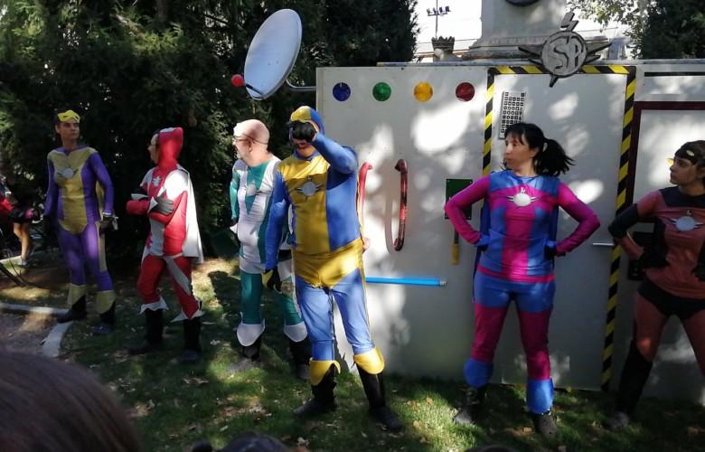 La SuperPatrulla que derrotó al doctor Tedio en Colón.