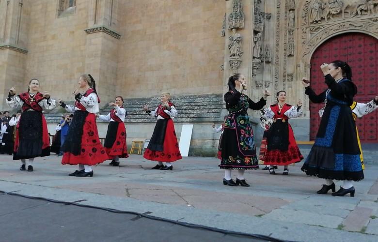 II Festival de Folclore Virgen de la Vega, Salamanca.