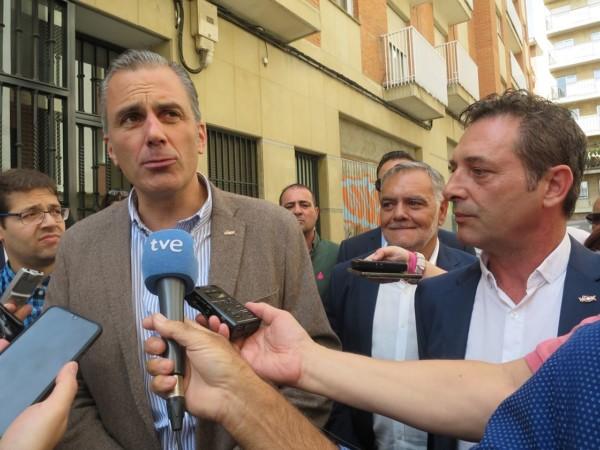 Inauguración de sede Vox, Ortega Smith en Salamanca. (7)
