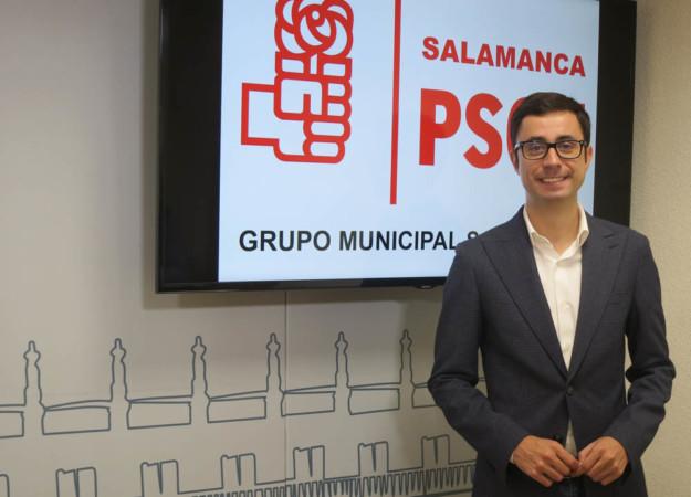 José Luis Mateos, portavoz del grupo municipal socialista.