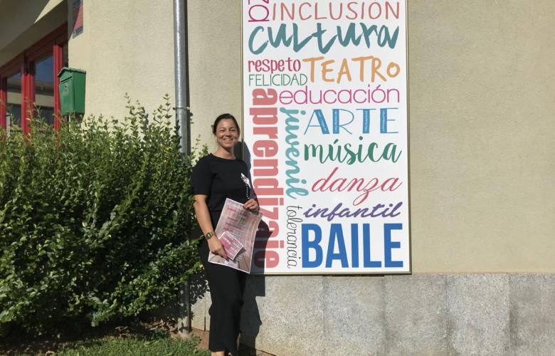 La concejal de Cultura de Guijuelo Mª Jesús Moro.