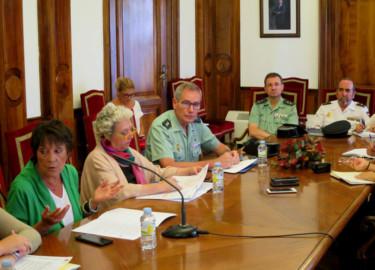 La delegada del Gobierno hace balance de los accidentes de tráfico, en Salamanca.,