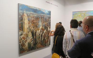 La exposición, Salamanca. Paisaje urbano de sueños, ensueños y miradas se puede ver en El Casino hasta octubre.