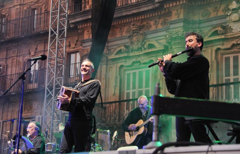 Luar Na Lubre actuó en Salamanca.