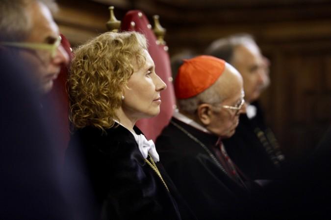 Miriam Cortés, rectora de la Universidad Pontificia de Salamanca.