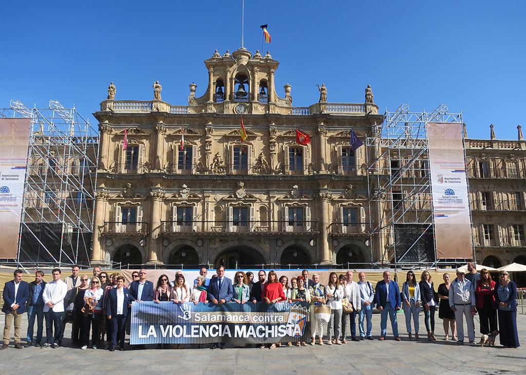 Minuto de Silencio violencia de género Salamanca