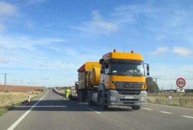 obras carretera N630
