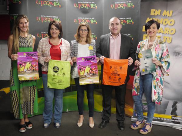 La mástre class de zumba impartida por Andrés Lerma será el sábado 28 en el CC El Tormes.