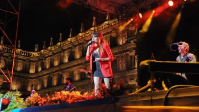 Rozalén, en concierto en Salamanca.