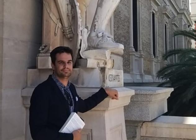 Santiago Alonso, escritor salmantino, autor de La fórmula del bestseller.