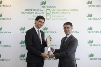 Premio Iberdrola Proveedor del Año a la empresa salmantina AOC Proyectos