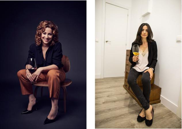 Almudena Alberca, única mujer Máster of Wine, y Mª José Huertas, premio Nacional de Gastronomía