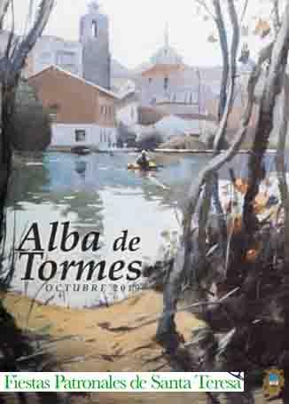 Banner Fiestas Patronales de Santa Teresa Alba de Tormes