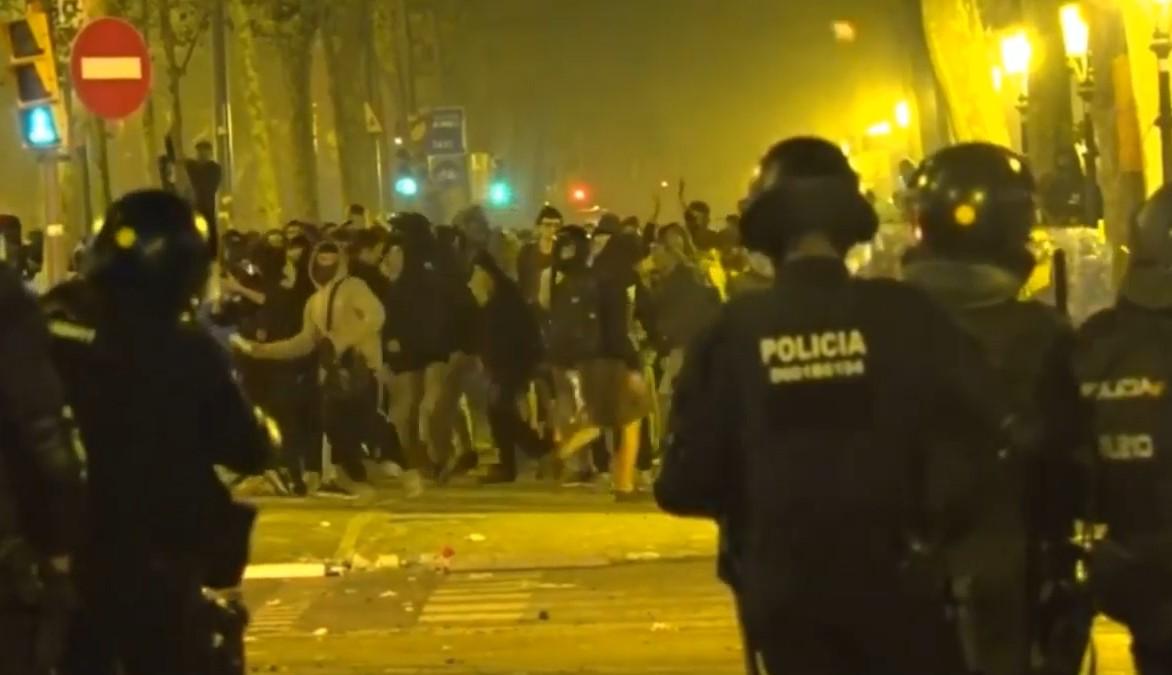 cataluña independentismo sentencia disturbios