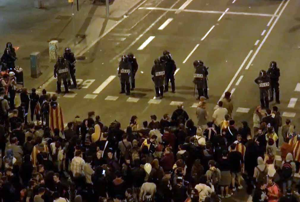 cataluña incidentes