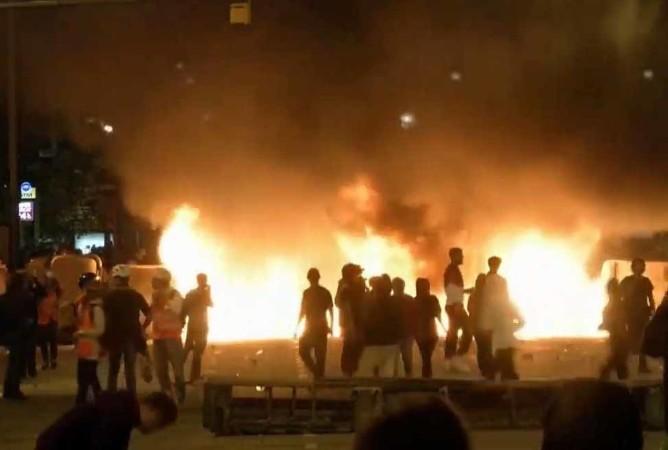 cataluña violencia