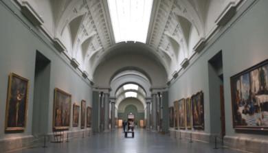 El Corte Inglés fecilita al Museo El Prado con la producción del corto 'Arte y Moda en El Prado'.