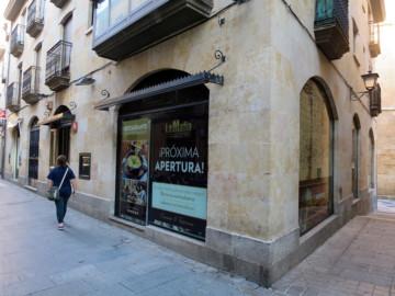 El nuevo establecimiento que abrirá sus puertas en la calle Meléndez, de Salamanca.