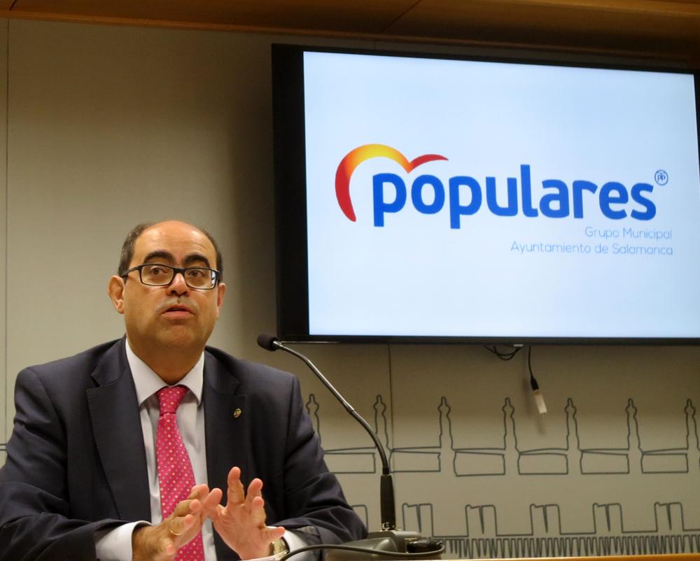 Fernando Rodriguez, portavos del PP en el Ayuntamiento de Salamanca.