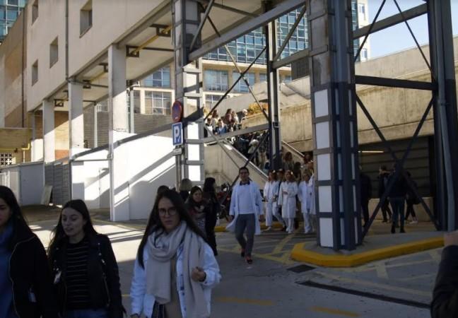 hospital simulacro evacuacion consultas