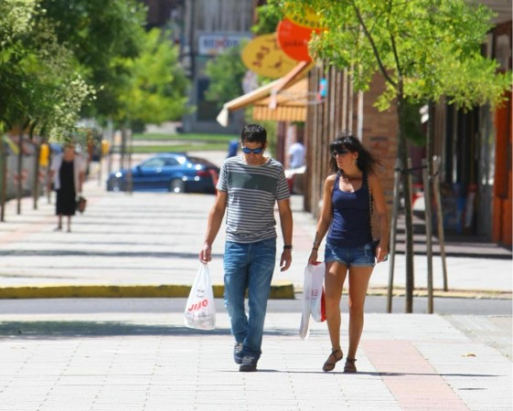 09-08-12 - César Sánchez - Ola de calor en Ponferrada (León).