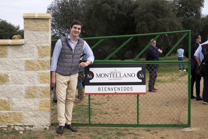 Jesús Formigo / ICAL Manuel Angel Curto, encargado de ventas de 'Ibéricos Montellano'