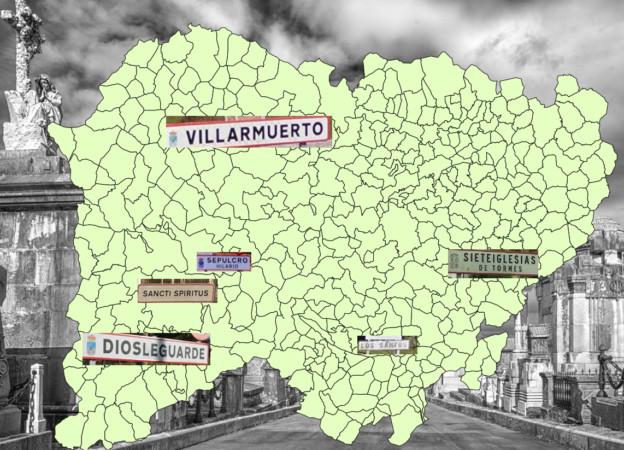 La ruta del Día de Todos los Santos guiados por los nombres de los pueblos de Salamanca.