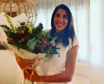 Paz Padilla celebra su 50 cumpleaños. Foto. Instagram.
