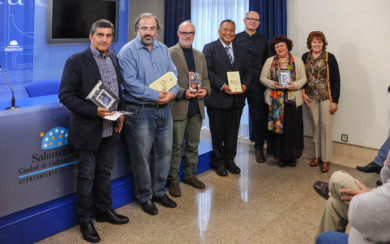 Los poetas iberoamericanos presentaron sus poemarios en La Sala de la Palabra de El Liceo.