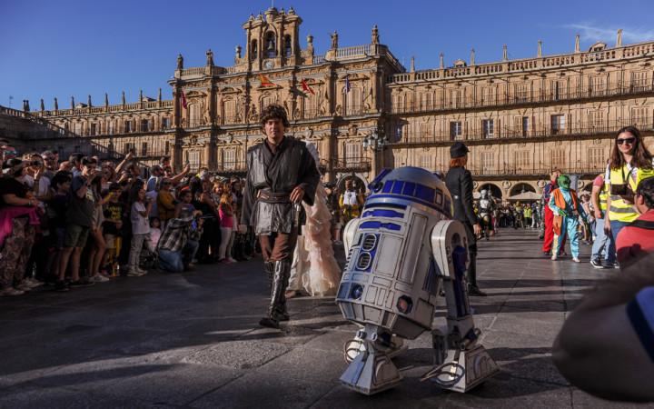 La Legión 501 se apodera de Salamanca.