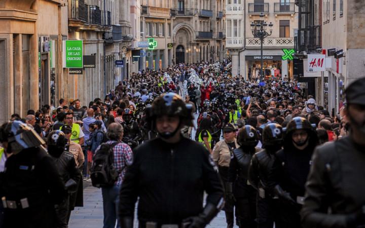 El Trainind Day la Legión 501 invadió Salamanca.