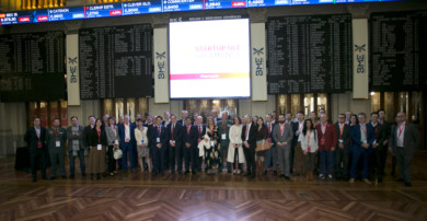 Startup OLÉ presentó sus propuestas y proyecto para el 2020 en la Bolsa de Madrid.