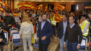 Vox ofreció un mitín en Salamanca.