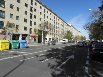 Calle del Bierzo, en Salamanca.