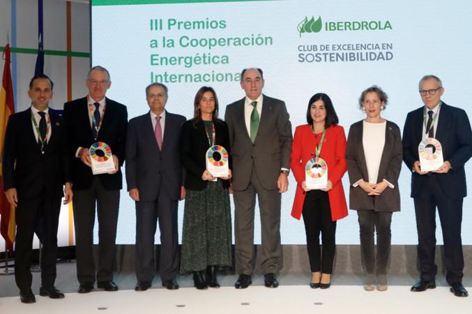 Entrega de los III Premios Iberdrola a la Cooperación Energética Internacional